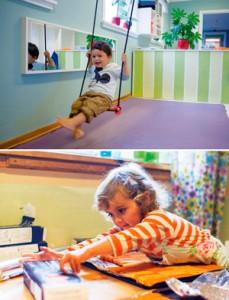 Aktivitet i Montessoribarnehagen